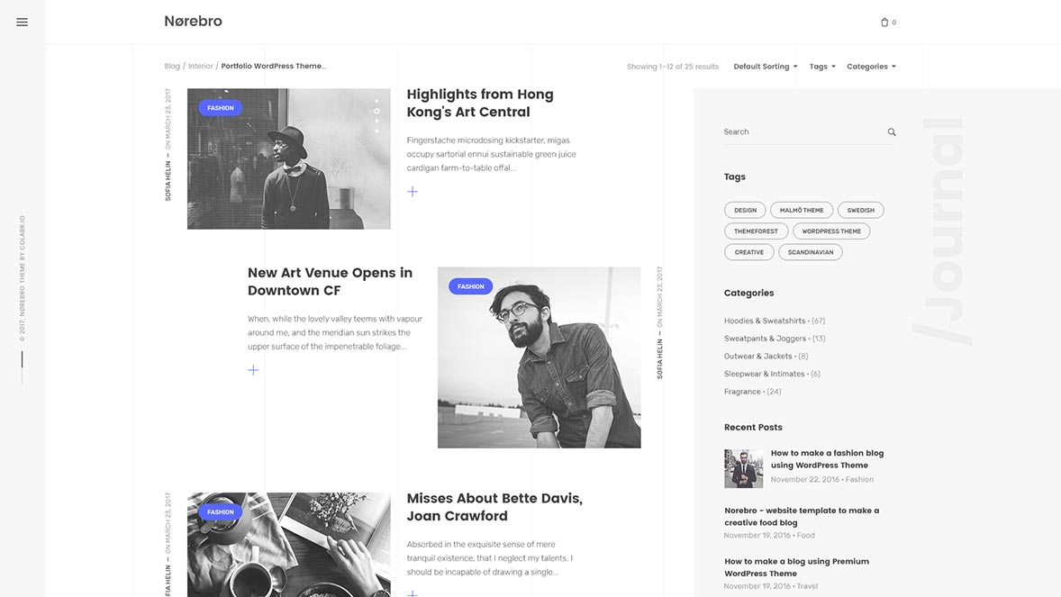 Norebro – Creative Multipurpose WordPress Theme for Professionals