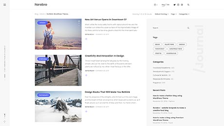 Blog Side Image ― with Sidebar