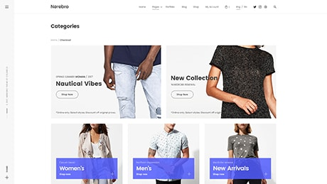 Shop ― Product Categories