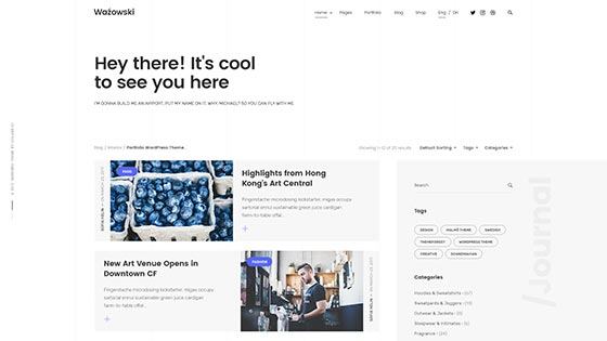 Personal Blog ― Right Sidebar