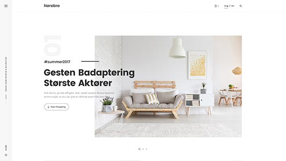 Minimal Shop ― Creative Slider