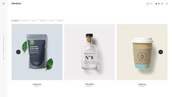 Clean Portfolio ― Carousel Classic