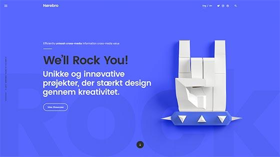 Creative Agency ― Fullscreen Hero