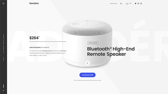 Single Product ― Fullscreen Hero