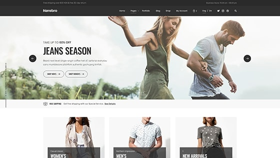 Traditional Shop ― Fullwidth Slider