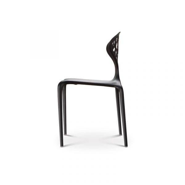 Stoppadé plastic chair