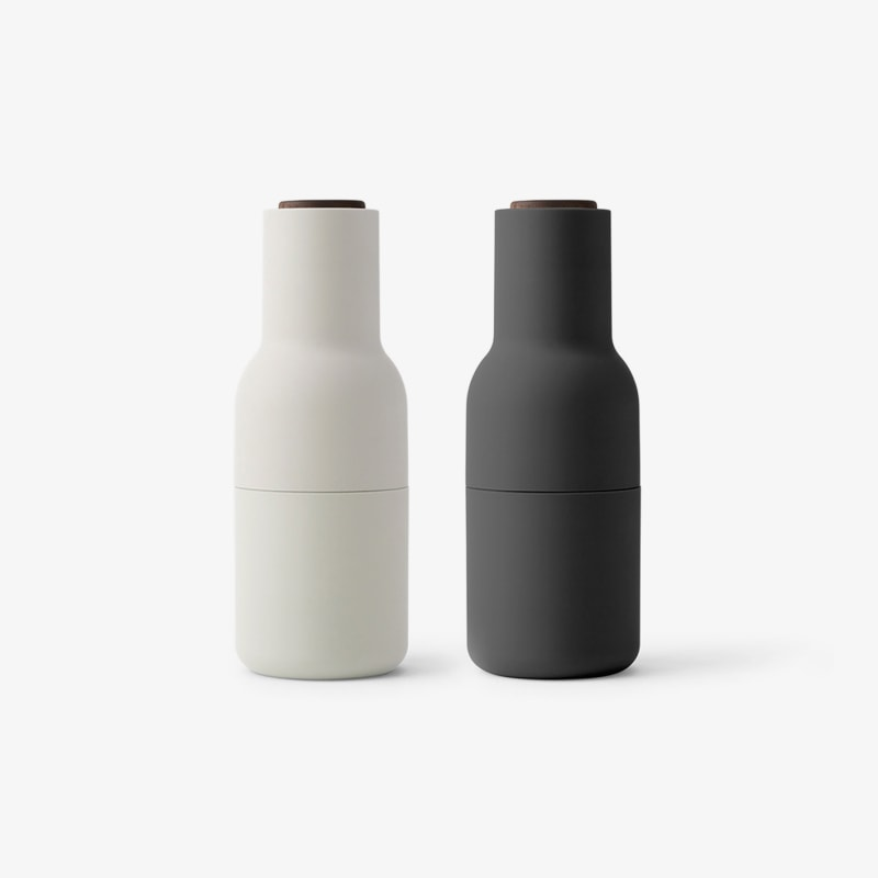 Stainless bottle grinders