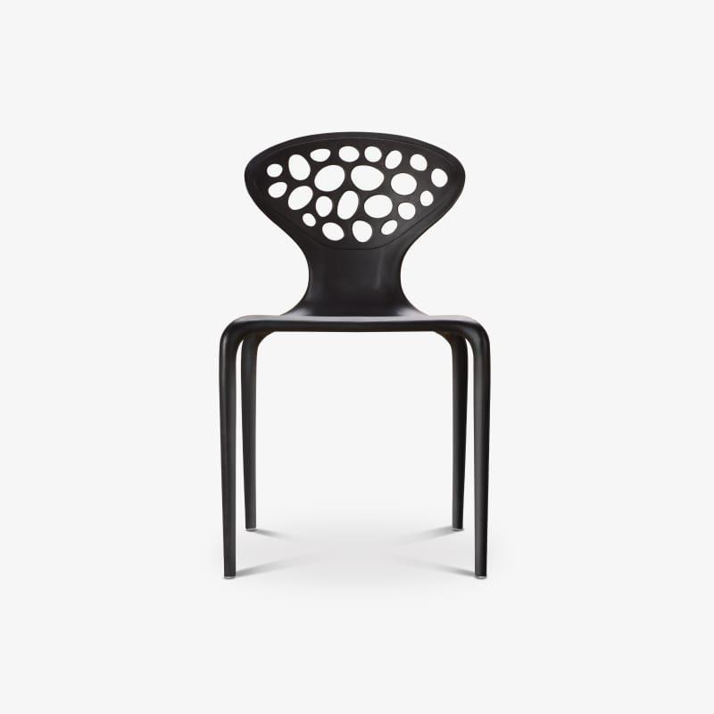Ripple plastic stool